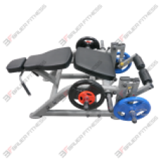 Iso Lever Bauer Fitness Leg Curl NLL-806