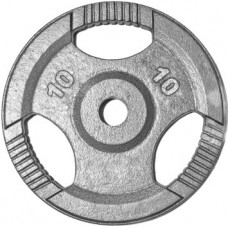 Cast Iron Olympic Plate with hand Grip